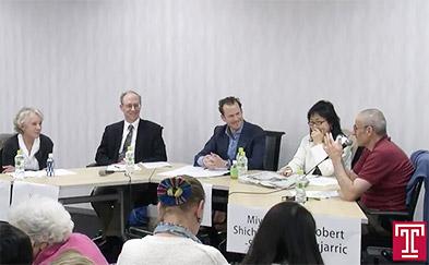 Image of Joshua Dupuy, Ann Fabian, Ken Moskowitz and Miya Shichinohe-Suga