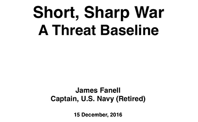 China's Naval Expansion and Global Security Presentation Slide