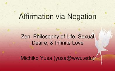 Affirmation via Negation Presentation Slide