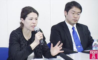 Image of Dr. Guibourg and Dr. Satoru