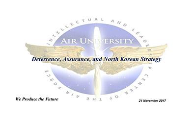 Deterrence, Assurance, and North Korean Strategy - Presentation Slide