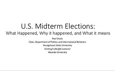 Slide image of U.S. Midterm Elections