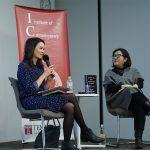 Author Akemi Johnson in conversation with Professor Mariko Nagai.